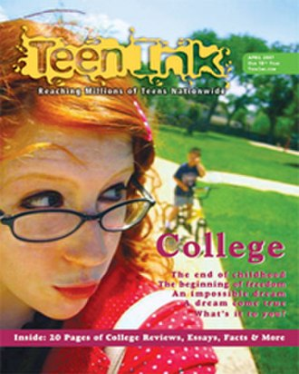Teen Ink - The April 2007 cover of Teen Ink