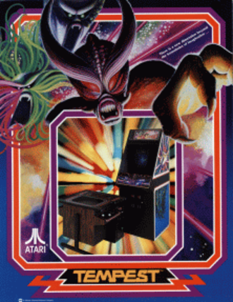 Tempest (video game) - North American arcade flyer