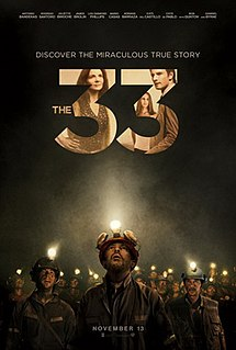 <i>The 33</i> 2015 film