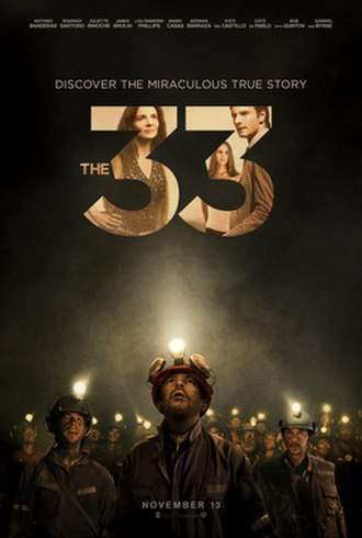 The 33 (film) - Theatrical release poster