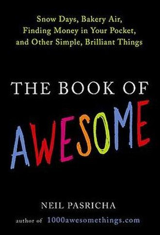 1000 Awesome Things - The Book of Awesome cover.