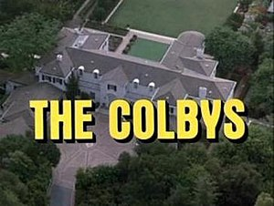 The Colbys - Main title card