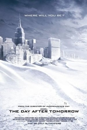 The Day After Tomorrow - Theatrical release poster