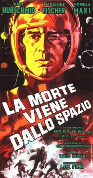The Day the Sky Exploded - Italian film poster for The Day the Sky Exploded