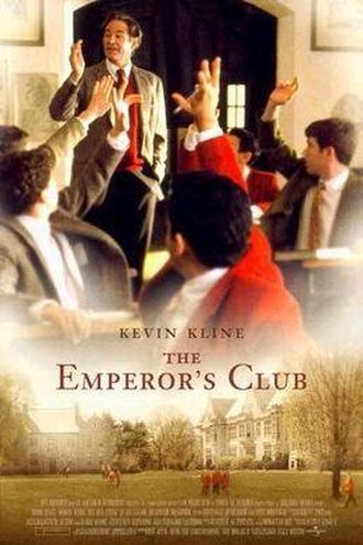 The Emperor's Club - Theatrical release poster