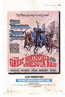 The Great Northfield Minnesota Raid 1972 poster.jpg