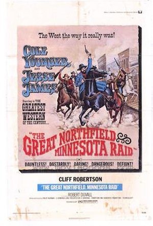 The Great Northfield Minnesota Raid - 1972 Theatrical Poster