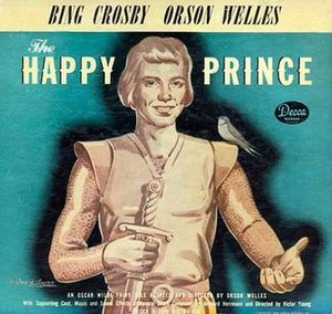 The Happy Prince (album) - Image: The Happy Prince (Orson Welles, Bing Crosby album) (album cover)