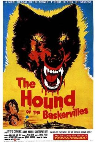 The Hound of the Baskervilles (1959 film) - Theatrical release poster