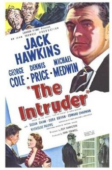 The Intruder 1953 film poster.jpg
