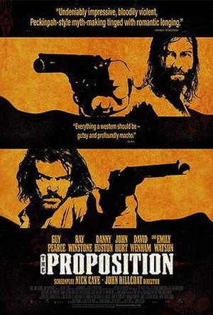 The Proposition (2005 film) - Promotional poster for The Proposition