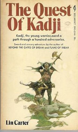 Belmont Books - Cover illustration for The Quest of Kadji (Belmont, 1971).