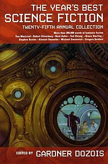 <i>The Years Best Science Fiction: Twenty-Fifth Annual Collection</i>