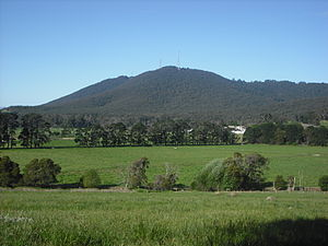 The Basin, Victoria - The Basin (looking towards Mount Dandenong)