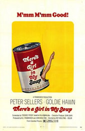There's a Girl in My Soup - Original film poster