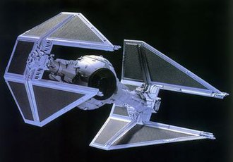 TIE fighter - A TIE/IN interceptor.