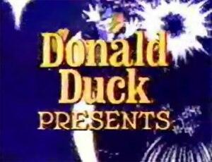 Donald Duck Presents - Title screen