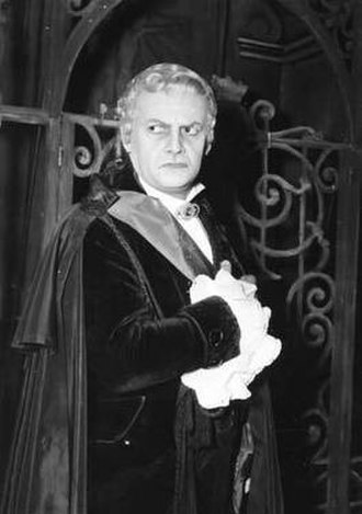 Tito Gobbi - Tito Gobbi as Scarpia in Puccini's Tosca, 1954