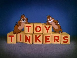 <i>Toy Tinkers</i> 1949 Donald Duck cartoon