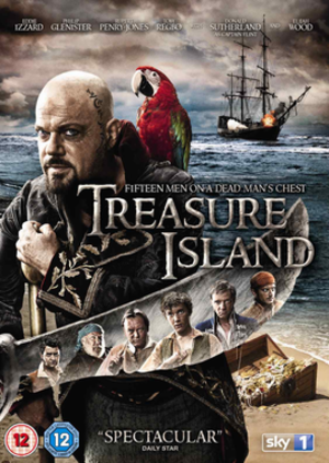 Treasure Island (2012 miniseries) - UK DVD Cover