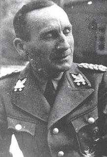 Udo von Woyrsch German Nazi, Higher SS and Police Leader, SS-Obergruppenführer
