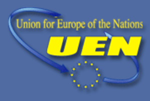 Union for Europe of the Nations - UEN logo