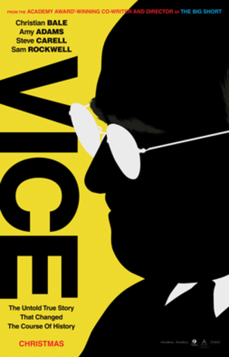 Vice (2018 film) - Theatrical release poster