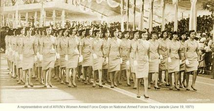 WAFC-ARVN National Armed Forces Day parade 06-19-71