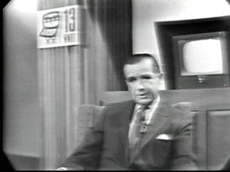 "WNET - ""Tonight, you join me in being present at the birth of a great adventure."" Edward R. Murrow, on the first broadcast of WNDT on September 16, 1962."