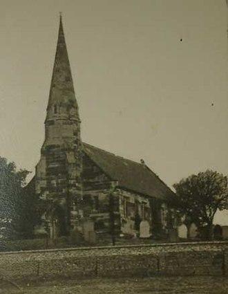 Wall, Staffordshire - Image: Wall church