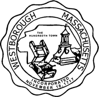 Westborough, Massachusetts - Image: Westborough MA Town Seal