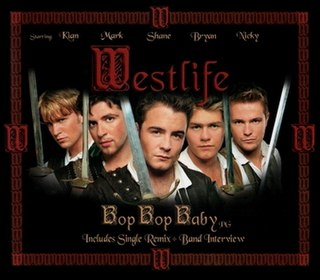 Bop Bop Baby 2002 single by Westlife