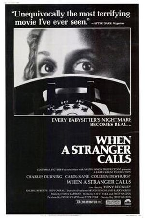 When a Stranger Calls (1979 film) - Theatrical release poster
