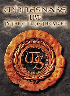 <i>Live... in the Still of the Night</i> live album by Whitesnake