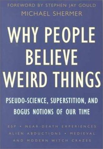 Why People Believe Weird Things - Cover of the first edition
