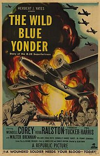 <i>The Wild Blue Yonder</i> (1951 film) 1951 war film directed by Allan Dwan