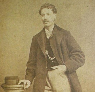 William Brocius - An unauthenticated photo of  Curly Bill Brocius from the Bird Cage Theater in Tombstone.