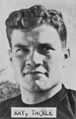 Bill Kay (tackle) - Kay c. 1948