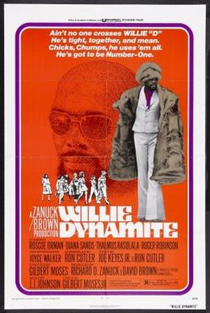 Willie Dynamite - Theatrical release poster.