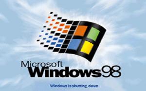 LOGO.SYS - The shutdown screen (LOGOW.SYS) of English Windows 98 version 4.10.2222