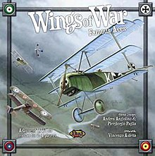 aces wwi biplane board game