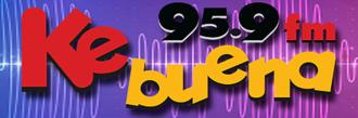 XHCJU-FM - Image: XHCJU kebuena 95.9 logo
