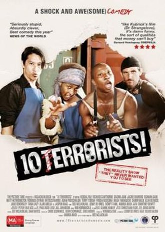 10 Terrorists - Image: 10TERRORISTS blue team poster