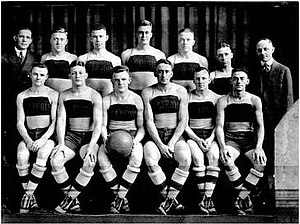 "1918–19 Illinois Fighting Illini men's basketball team - ""1918-19 Fighting Illini men's basketball team"""