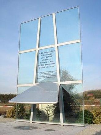 Air France Flight 4590 - Gonesse memorial