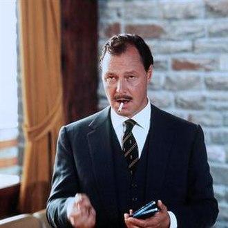 Ivan Desny - in German TV's Tatort: Kressin und der Mann mit dem gelben Koffer (1972)