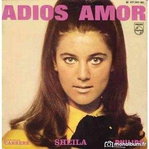 Adiós Amor (Sheila song) - Image: Adiós Amor (Sheila song)
