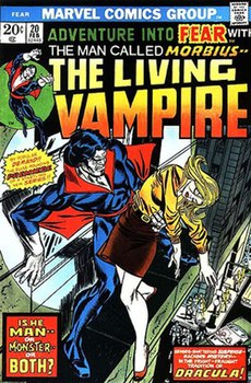 Adventure into Fear #20. Art by Gil Kane.