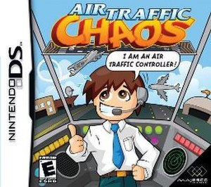 Air Traffic Controller (video game) - North American cover