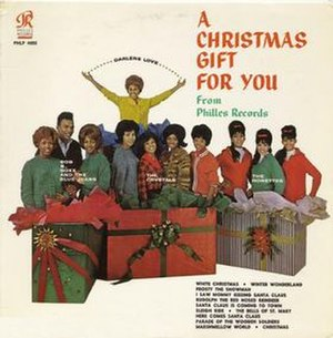 A Christmas Gift for You from Phil Spector - Image: Album A Christmas Gift For You From Philles Records cover